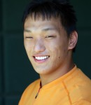 Head Shot of young Asian man with developmental disabilities