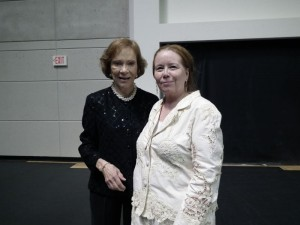 FODH Director and Rosalynn Carter at the Rosalyn Carter Institute for Caregiving Summit